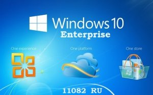 Microsoft Windows 10 Enterprise 11082 x86-x64 RU TUNE by Lopatkin (2015) RUS