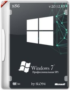 Windows 7 Профессиональная SP1 (x86) by SLO94 v.20.12.15 [Ru]