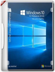 Windows 10 ProVL v1511 Update by molchel (x64) [Ru/En] (19-12-15)