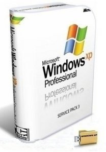 Microsoft Windows XP Professional 32 bit SP3 VL RU 2015 FINAL by Lopatkin (2015) RUS