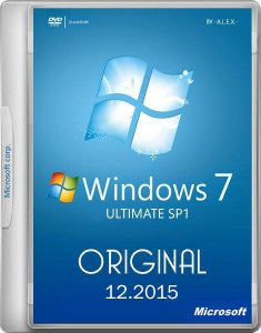 Windows 7 Ultimate SP1 Original 25.12.2015 -A.L.E.X.- (x86-x64)[Ru/En] (2015)