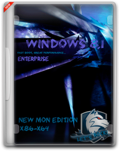 Windows 8.1 Enterprise New MoN Edition [0].01+WinPE-x86-x64 - 01.01.2016
