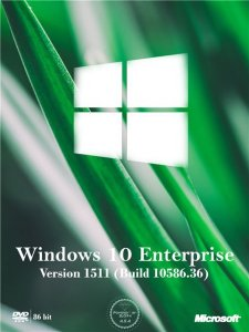 Windows 10 Enterprise by SLO94 v.08.01.16 (x86) [Ru] (2016)