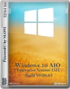 Windows 10 Enterprise AIO 2in1 by SLO94 (x32/x64) [Ru] (v.17.01.16)