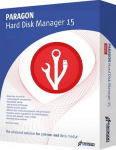 Paragon Hard Disk Manager 15 Professional 10.1.25.813 [Ru]