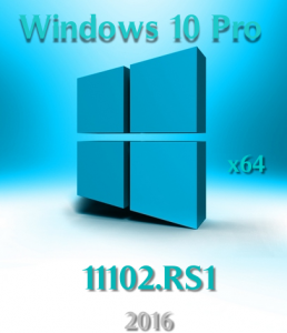 Windows 10 Pro Lite 11102.RS1 by vlazok (X64) [RU] (2016)