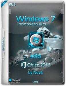 Windows7 SP1 Professional & Office2016 by novik (x86) [Ru] (2016)