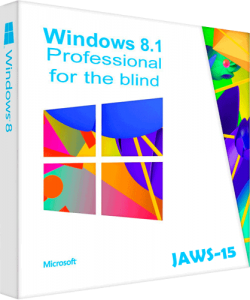 Windows 8.1 Professional JAWS 15 для незрячих. (x86) [Ru] (2016)