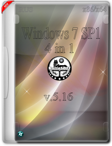 Windows 7 4 in 1 v.5.16 (x86x64) (RUS) [2016]