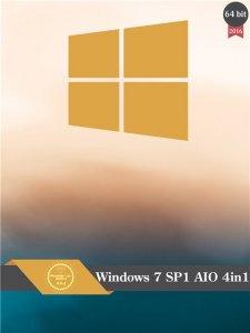 Windows 7 SP1 AIO (4in1) by SLO94 v.16.02.16 (X64) [Ru]