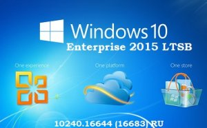 Microsoft Windows 10 Enterprise 2015 LTSB 10240.16644 (16683) x86-x64 RU-RU NANO by Lopatkin (2016) RUS