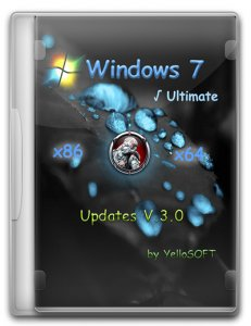 Windows 7 SP1 Ultimate [Updates V.3.0] by YelloSOFT (x86-x64) [Ru] (2016)