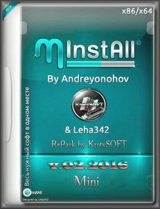 MInstAll by Andreyonohov & Leha342 RePack �� KrotySOFT (x86/x64) (Rus) [16.02.2016]