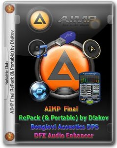 AIMP 4.00 Build 1697 Final RePack (& Portable) by D!akov (with Bongiovi Acoustics DPS | DFX Audio Enhancer) [Multi/Ru]
