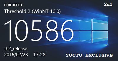 Microsoft Windows 10 Pro 10586.164 th2 x64 RU YOCTO_EXCLUSIVE by Lopatkin (2016) RUS