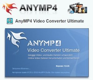 AnyMP4 Video Converter Ultimate 7.0.26 [Multi/Ru]