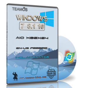 Windows 7-8.1-10 AIO 6in1 x86/x64 February 2016 by TEAM OS (ENG/RUS/2016)