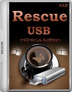 Rescue USB (m0nkrus Edition) 1.0 (x86x64) (2016) [Rus/Eng]