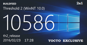 Microsoft Windows 10 Pro 10586.164 th2 x86 RU YOCTO_EXCLUSIVE_2x1 by Lopatkin (2016) RUS