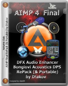 AIMP 4.01 Build 1705 Final RePack (& Portable) by D!akov (with Bongiovi Acoustics DPS | DFX Audio Enhancer) [Multi/Ru]