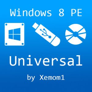 Windows 8 PE x86x64 Universal by Xemom1 22.03.16 [Ru]