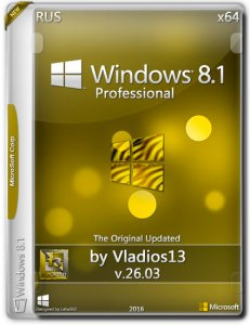 Windows 8.1 Pro By Vladios13 v.26.03 (x64) [Ru] (26.03.2016)