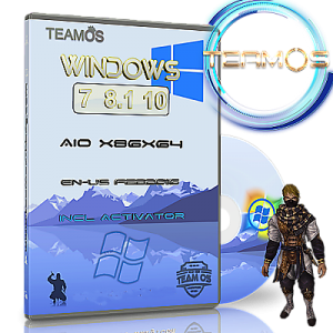 Windows 7-8.1-10 Aio 6in1 March т.2 Incl Activator by TEAM OS (x86-x64) [En] (2016)
