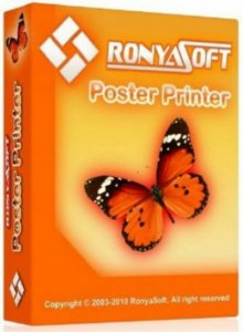 RonyaSoft Poster Printer 3.2.8 RePack (&Portable) by FoXtrot [Multi/Ru]