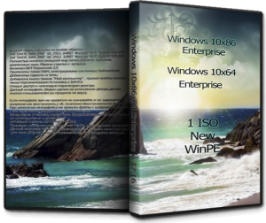 Windows 10 Enterprise by UralSOFT v.37.16 (x86-x64) (2016) [Rus]