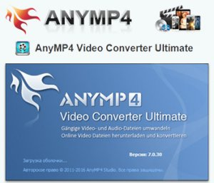 AnyMP4 Video Converter Ultimate 7.0.30 [Multi/Ru]