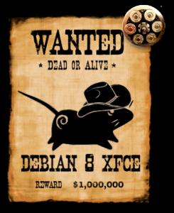 Debian 8 Xfce Custom v6 2016.09.04 [Авторский релиз] [x86] 1xDVD