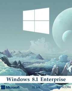 Windows 8.1 Enterprise / by SLO94 / v.24.09.16 / x86 / ~rus~