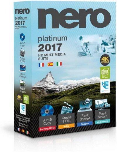 Nero 2017 Platinum 18.0.00300 VL / RePack by KpoJIuK (22.11.2016)