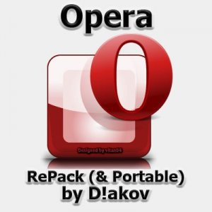 Opera 40.0.2308.81 Stable RePack (& Portable) by D!akov
