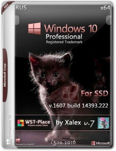 Windows 10 Pro / Full & Lite 1607(14393.321) for-SSD v7 / xalex