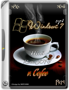 Windows7 / 11 in 1 / KottoSOFT / v. Cofee / ~rus~
