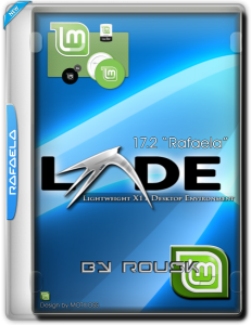 "Linux mint LXDE 17.2 one ""Rafaela"" / by Rousk / ~rus~"
