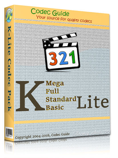 K-Lite Codec Pack 12.6.0 Mega/Full/Standard/Basic