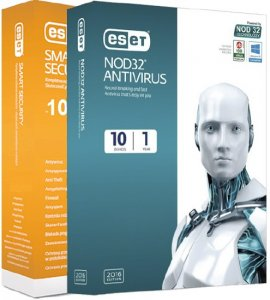 ESET NOD32 Antivirus / Smart Security 10.0.369.1 / RePack by KpoJIuK