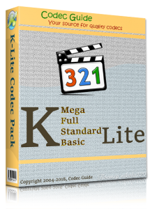 K-Lite Codec Pack 12.8.0 Mega/Full/Standard/Basic + Update