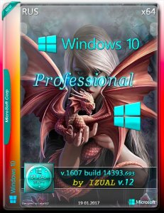 Windows 10 Professional 14393.693 v.1607 by IZUAL v.12 (x64) (2017) [Rus]