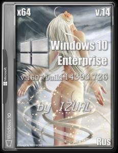 Windows 10 Enterprise 14393.726 v.1607 by IZUAL v.14 (x64) (2017) [Rus]