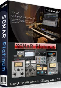 Cakewalk SONAR Platinum 23.1.0 Build 32 (2017.01) [Ru/En]