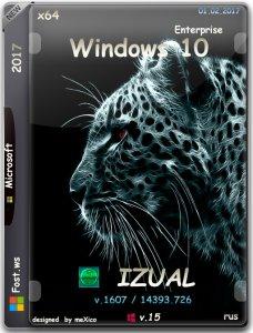Windows 10 Enterprise LTSB 14393.726 v.1607 by IZUAL v.15 (x64) (2017) [Rus]