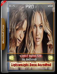 Windows 10 Pro 729 Lightweight Base AeroMod / x64 Srez / Bellish@ / ~rus~