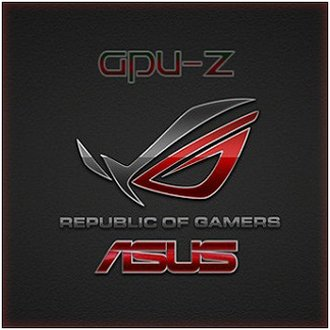GPU-Z 1.18.0 + ASUS ROG Skin [En]<br />
