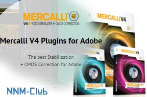 proDAD Mercalli V4 Plugins for Adobe 4.0.477.1: Stabilizer + CMOS Correction 1.0 (x64) RePack by Team VR [En]