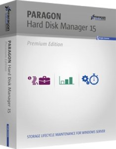 Paragon Hard Disk Manager 15 Premium 10.1.25.1137 BootCD