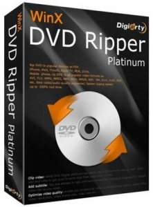 WinX DVD Ripper Platinum 8.7.0.208 Final (2018) PC | RePack & Portable by elchupacabra