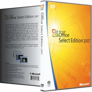 Microsoft Office 2007 SP3 Select Edition 12.0.6766.5000 RePack by KpoJIuK